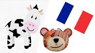 Farm animals in French with Traposo