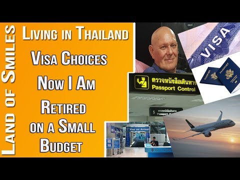 Thailand  My Visa Choices at 70 with Limited Money Ian Royle