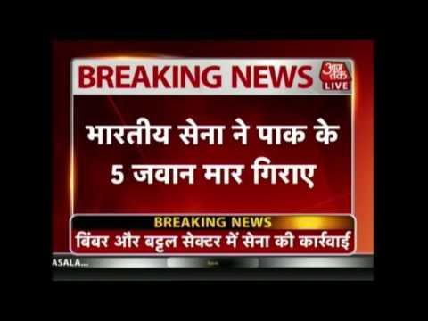 Five Pakistan Jawans Killed In Retaliatory Firing By Indian Army At LoC