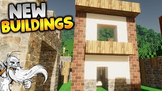 "Colony Survival Gameplay - ""FANCY NEW BUILDINGS!!!""  - Let"
