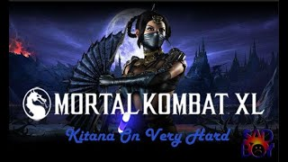 Mortal Kombat XL - Kitana (Mournful/lúgubre) - Klassic Tower On Very Hard (No Matches/Rounds Lost)