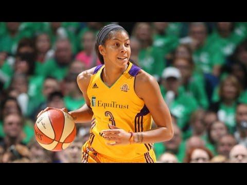 Candace Parker Scores 28; Wins 1st WNBA Title and Finals MVP