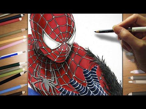 Speed drawing of Spider-Man 3 | Jasmina Susak - YouTube