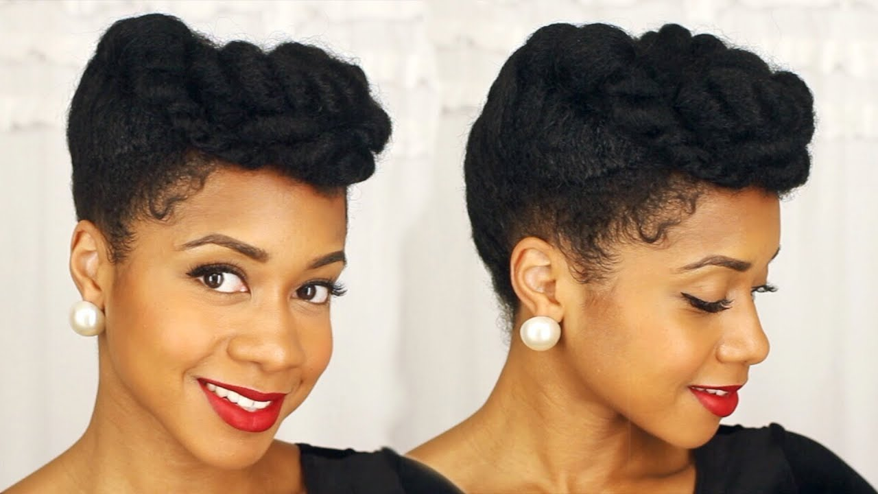 Easy Elegant Updo Perfect For Special Occasions Natural Hair