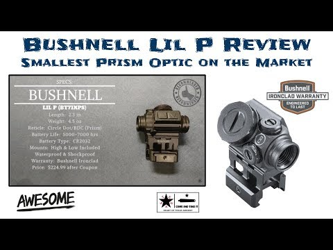 Bushnell Lil P Review - A Miniature Prism Optic that Rocks!