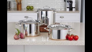 Essteele Per Vita. Italian Made Stainless Steel & Copper Cookware
