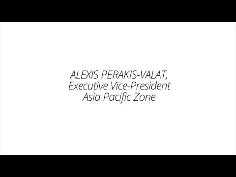 A conversation on diversity with Alexis Perakis-Valat Executive Vice-President Asia Pacific Zone