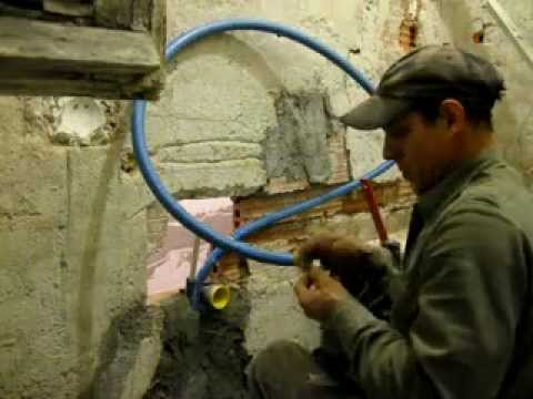 lavorazione impianto idraulico - YouTube