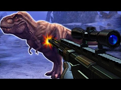 Tyrannosaurus Rex Vs Sniper - Dino Hunter Deadly Shores |