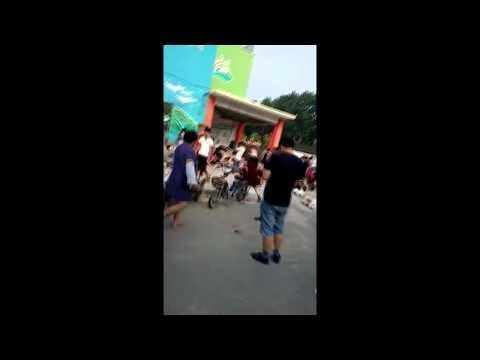 Blast occurs near kindergarten in Jiangsu, China
