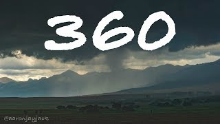 360: Chasing A Severe Warned Storm Through The Rocky Mountains