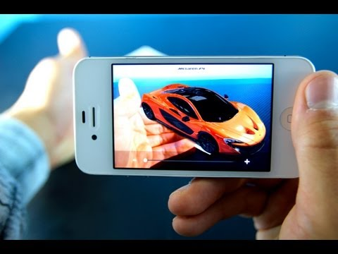 McLaren P1 - Amazing New 3D Augmented Reality App for iPhone, iPod Touch & iPad!