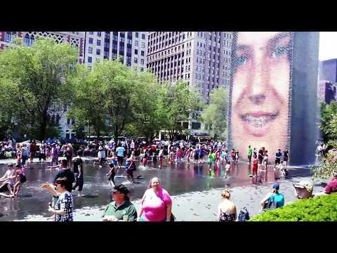 Chicago Downtown Millennium Park