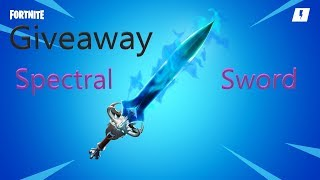 Fortnite GIVEAWAY Spectral Blade Free Sword Save The World 🔴 Support A Creator ID Jasonking5