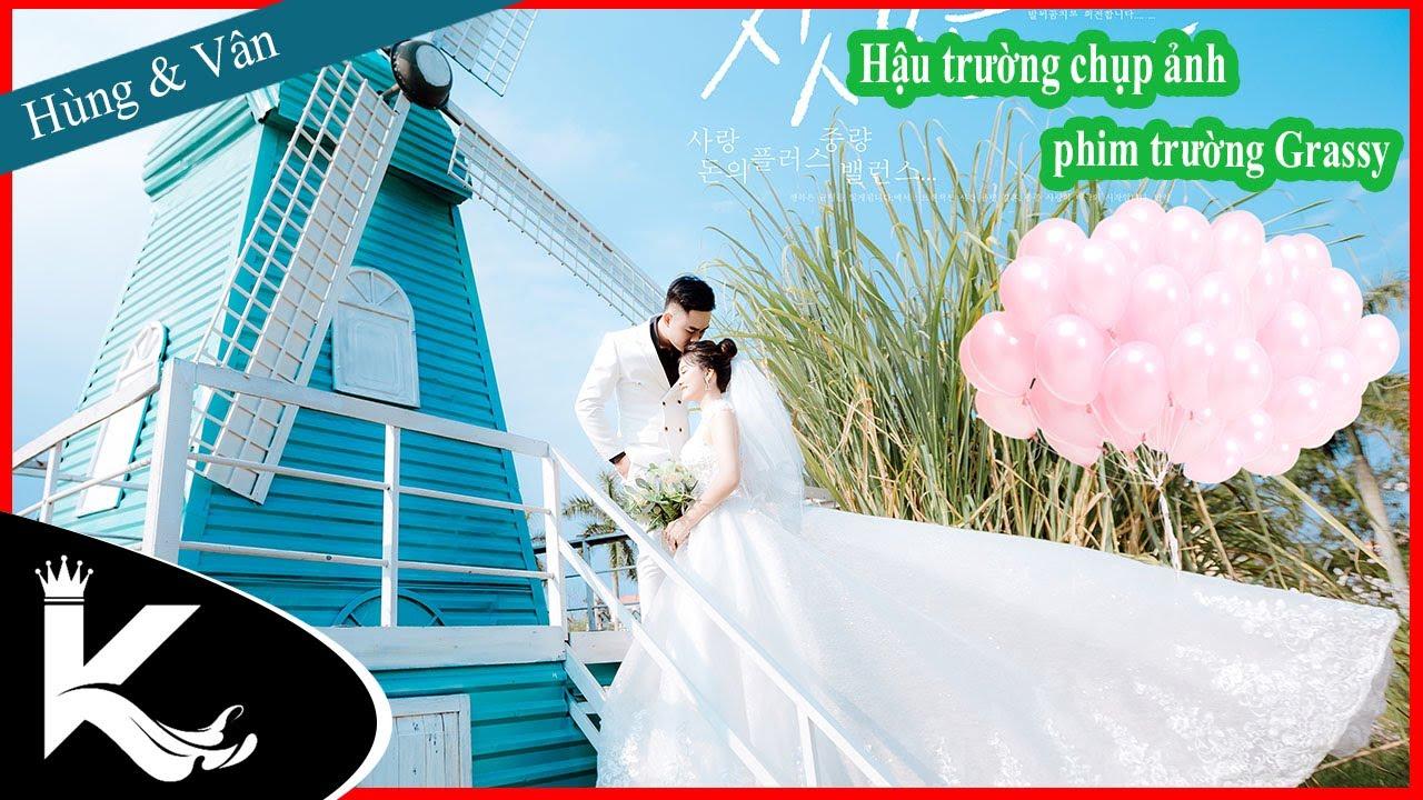 Hậu trường chụp ảnh cưới phim trường Grassy || Hùng & Vân