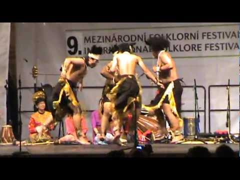 Papua Dance - 9th International Folklore Festival - Prague 2012