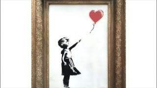 BANKSY PUNKS ELITES AT AUCTION OF HIS WORK!