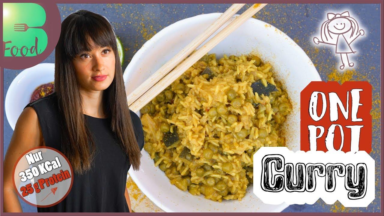 Curry Reis - One Pot Rezept - schnelle und gesunde Küche - vegan - BodyFood