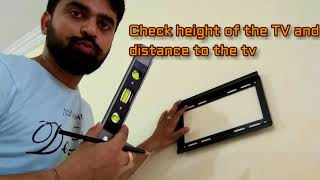 How to wall Mount LCD LED TV