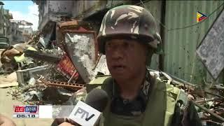 Pagbisita ni Pangulong Duterte sa Marawi City, nagpataas sa morale ng mga sundalo't pulis