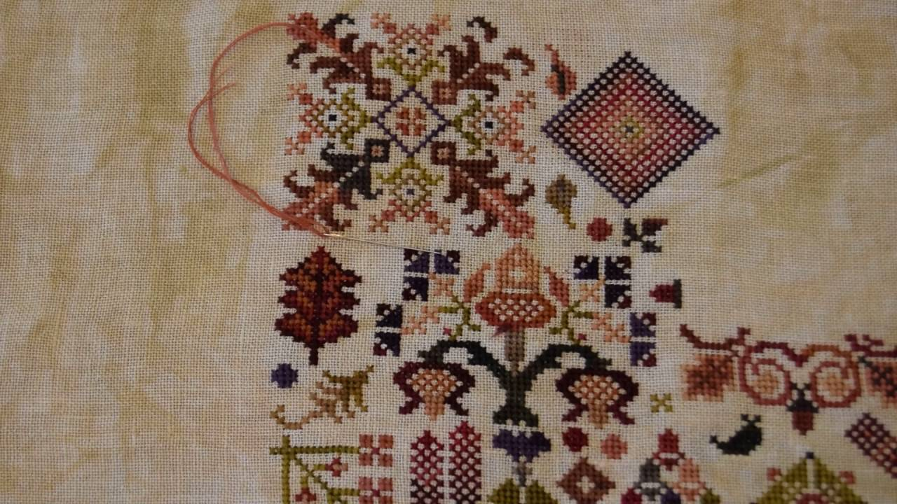 Вышивка rosewood