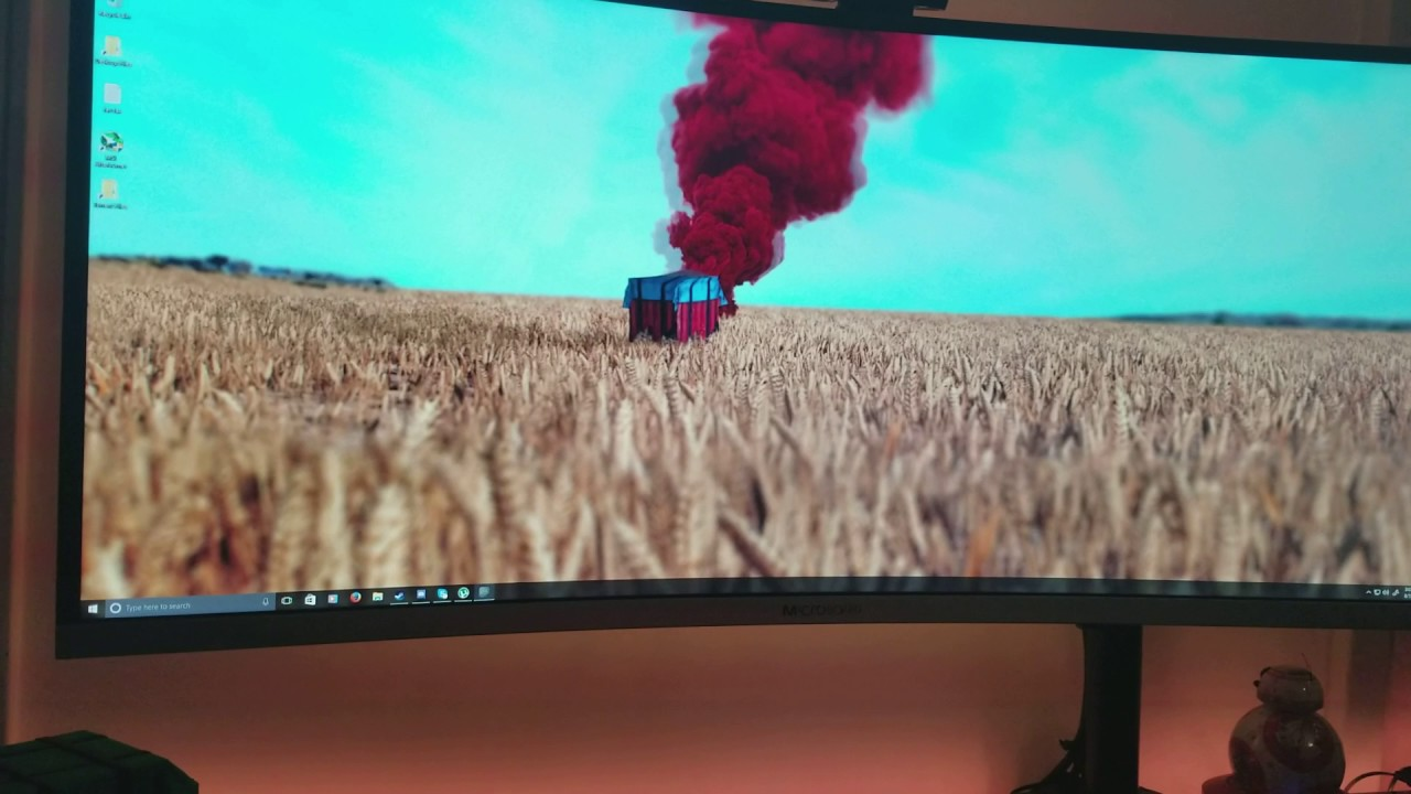 PUBG Setup With Live Wallpapers