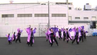 2012.6.24 第15回ヤートセ秋田祭 前祭 大町会場 1回目の演舞.