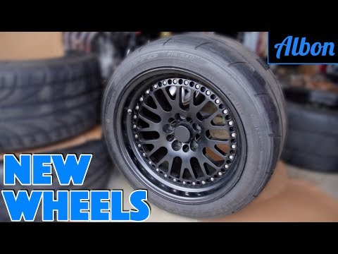 New Wheels! - Building a Monster Toyota Supra - Part 4 [ALBON Garage]