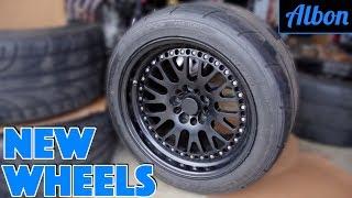 Building A Monster Toyota Supra - New Wheels! - Part 4 [ALBON Garage]