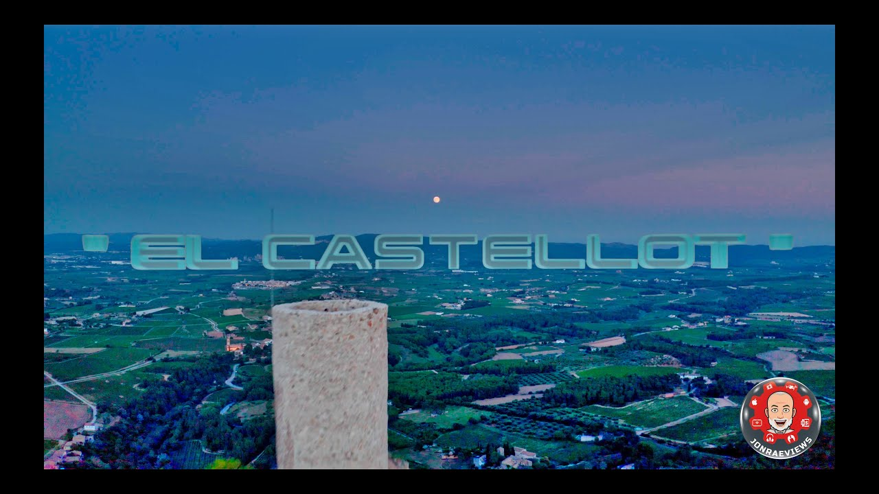 Dji Mavic 2 Pro - El Castellot  Monumentos históricos de Cataluña