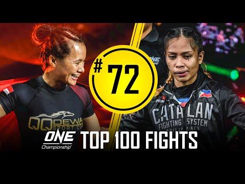 Priscilla Hertati Lumban Gaol vs. Jomary Torres | ONE Championship's Top 100 Fights | #72