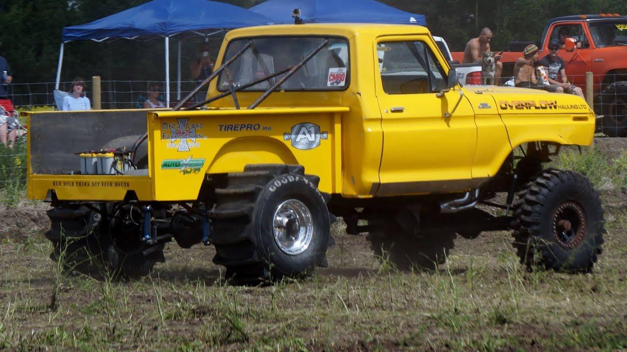 1979 F150 on Alcohol Mud Racing - YouTube