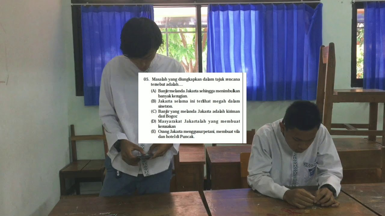 Debat & Pembahasan Soal Ujian Nasional Bahasa Indonesia ...