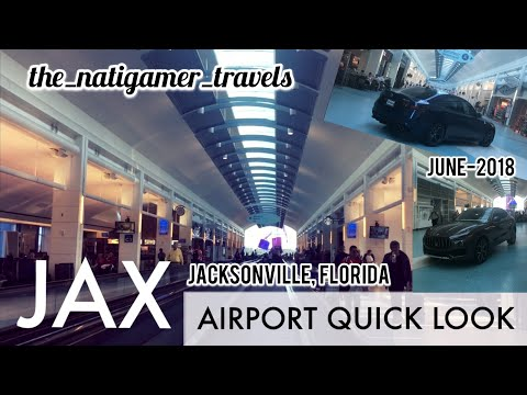 Airport Quick Look | JAX / Jacksonville, Florida | Jacksonville International | June-2018