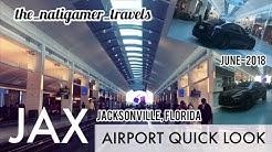 Airport Quick Look | JAX / Jacksonville, Florida | Jacksonville International | June-2018