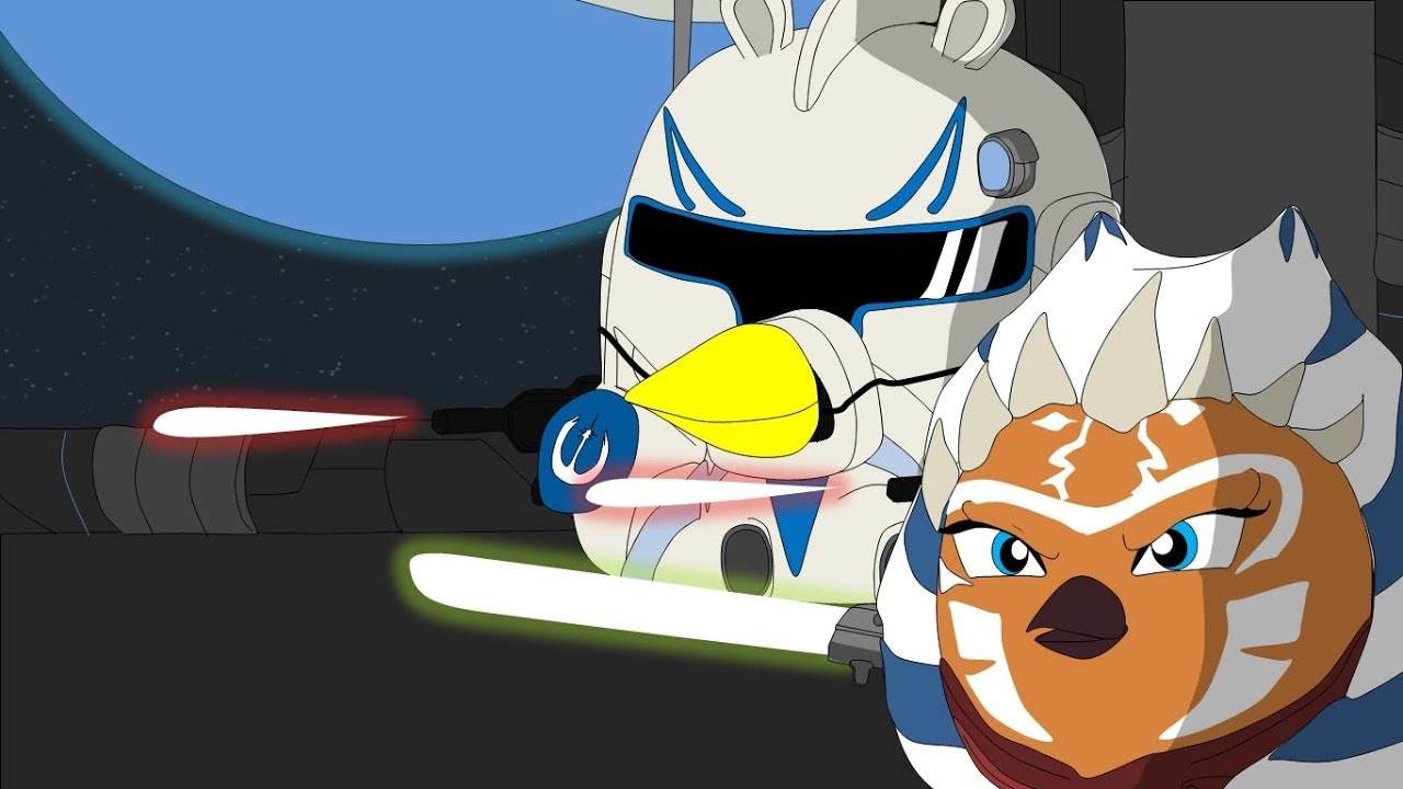 Angry Birds Star Wars The Clone Wars Characters From Season 1 Youtube