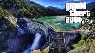 GTA 5: We Can Break The Dam!? - Los Santos Tsunami! (GTA 5 Mystery)
