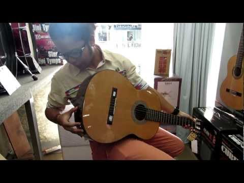 Hafiz At Swee Lee Guitar Shop, Bras Basah Complex, Singapore (Part1)