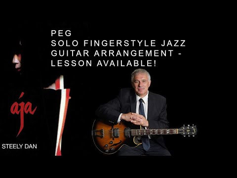 Peg, Steely Dan, fingerstyle guitar, lesson available