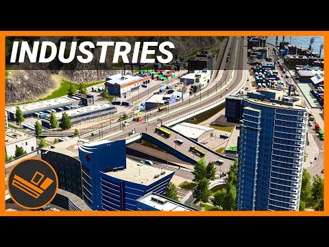 Completed Industrial Area - INDUSTRIES (Part 23)