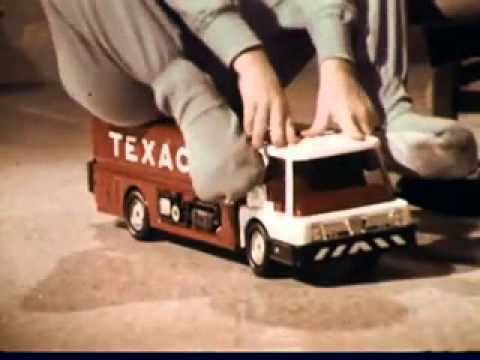 VINTAGE MID 1960s TEXACO TOY TRUCK COMMERCIAL