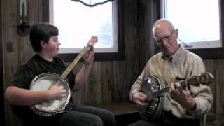 "Banjo Music ""Russian Rag"" - Jesse & Norbert"