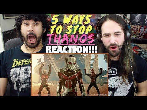 5 WAYS TO STOP THANOS -