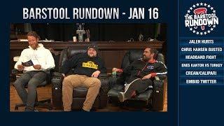 Barstool Rundown - January 16, 2019