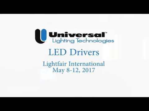 ID Series Of Intelligent LED Drivers By Universal Lighting Technologies