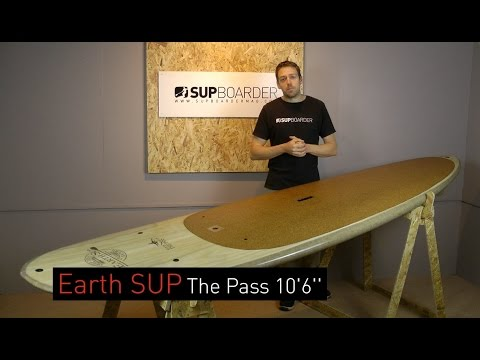 SUP Review – Earth SUP  The Pass 10'6'' / Wooden Veneer SUP