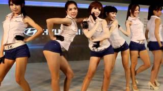 2012台北車展 12.24號  HYUNDAI 的表演