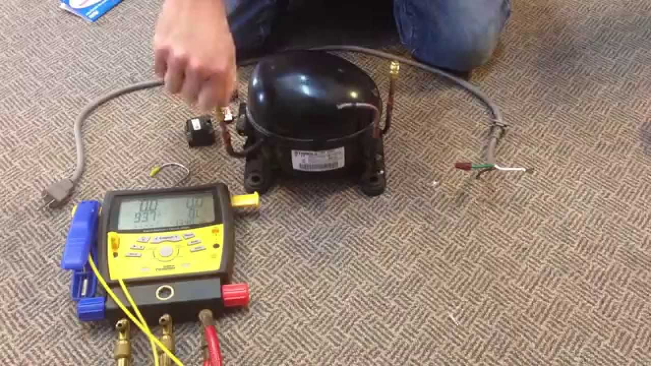 How To Make A Vacuum Pump From Old Compressor Youtube