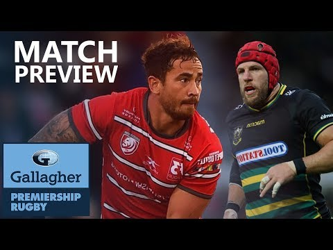 Match Preview | Gloucester Rugby V Northampton Saints | Gallagher Premiership Rugby