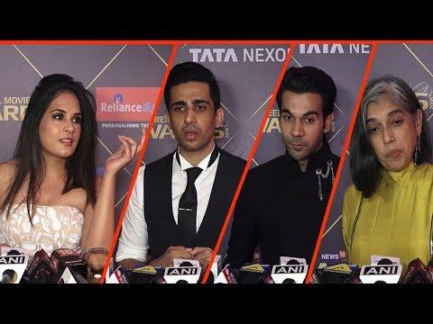 News 18 Reel Movie Awards 2018 Red Carpet   Richa Chadha, Rajkummar Rao, Dia Mirza  TVNXT Bollywood